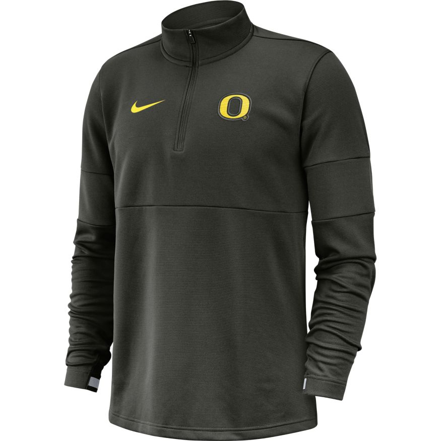 Classic Oregon O, Nike, Dri-FIT, Therma, Zip, Hoodie